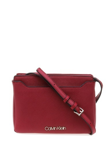 Calvin Klein Omuz Çantası Bordo